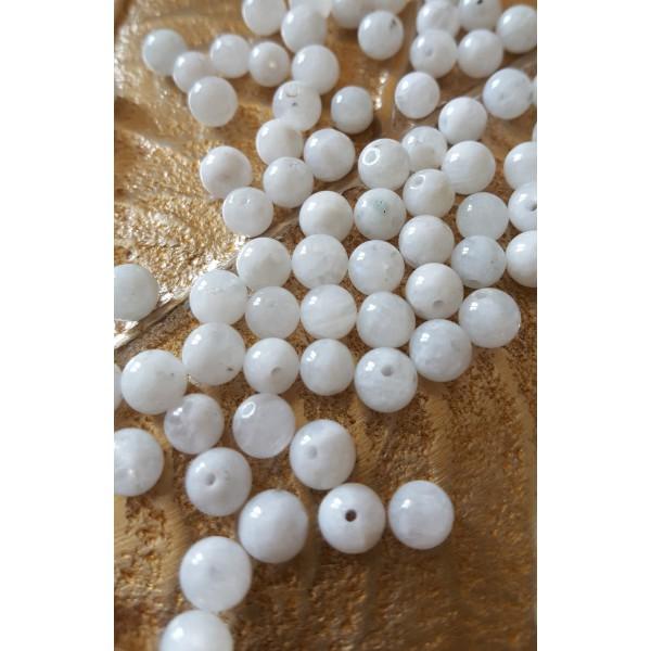 Pierre de Lune - perle 6mm