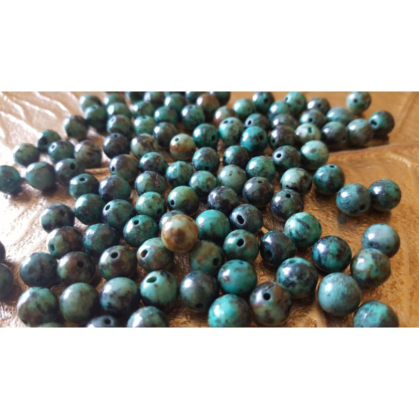 Turquoise - Perle 8mm