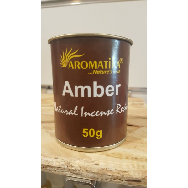 Encens résine naturelle AMBER - Aromatika