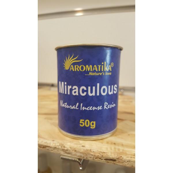 Encens résine naturelle MIRACULOUS - Aromatika