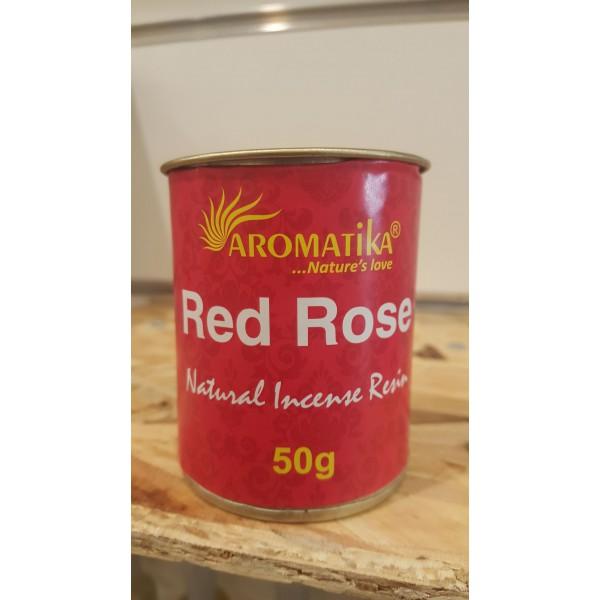 Encens résine naturelle RED ROSE - Aromatika