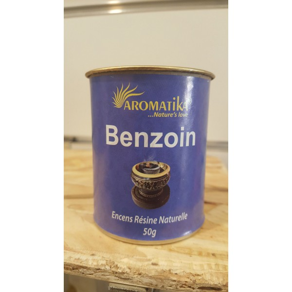 Encens résine naturelle BENZOIN - Aromatika
