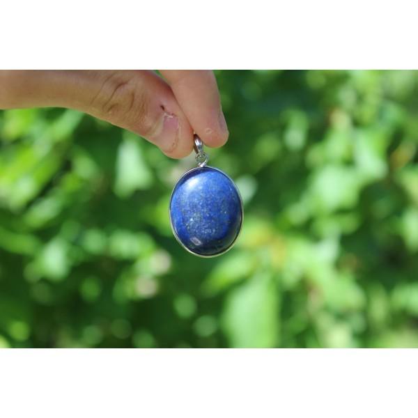 Lapis Lazuli - Pendentif 10 gr + argent