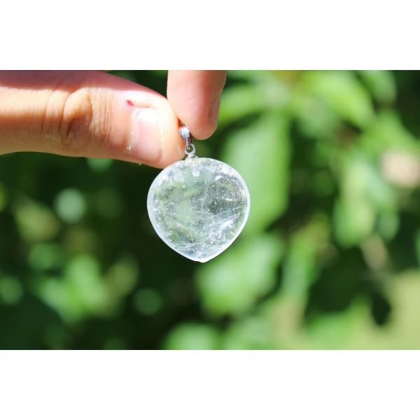 Cristal de Roche - pendentif 9 gr
