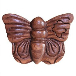 Boîte Magique du Bali - Papillon