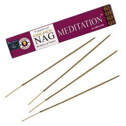 Encens GOLDEN Nag Méditation - 15 GR